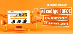 10% de descuento en tu primera compra Fibras Ópticas de México